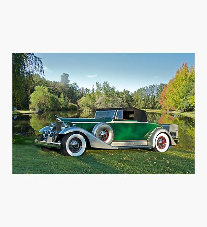 1933 Packard 1006 Convertible Photographic Print