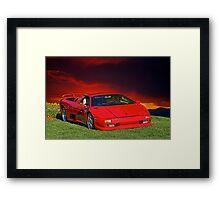 1998 Lamborghini Diablo VT Roadster Framed Print