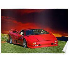 1998 Lamborghini Diablo VT Roadster Poster