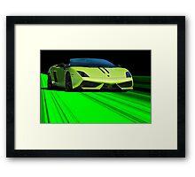 2013 Lamborghini Performonte  Framed Print