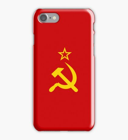 Smartphone Case - Flag of The Soviet Union (USSR) V iPhone Case/Skin
