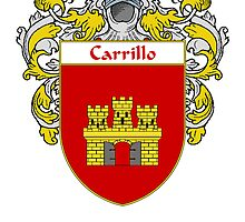 Carrillo Coat of Arms/Family Crest by William Martin