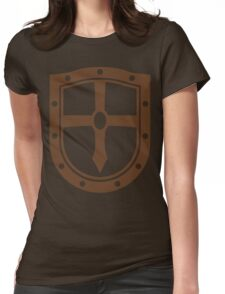 Acorn Armory (Brown) Womens Fitted T-Shirt