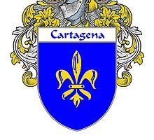 Cartagena Coat of Arms/Family Crest by William Martin