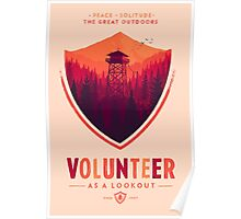Firewatch Volunteer Poster