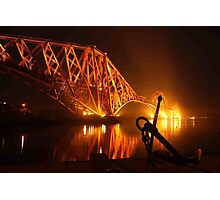Forth Rail Bridge from N. Queensferry Photographic Print