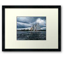 Burnt Island Lighthouse Framed Print