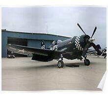 Corsair F4u-5 Poster