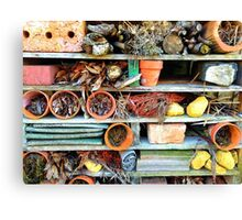 Heartbreak at the Insect Hotel.... Canvas Print