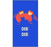 Chibi Chibi Photographic Print