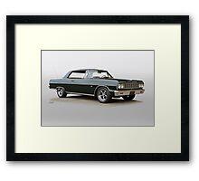 1965 Chevelle Malibu Super Sport Framed Print