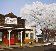 Shaniko Ghost Town Oregon USA - Ice Cream by Rob Atkinson