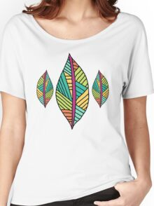 Native Leaves Women's Relaxed Fit T-Shirt
