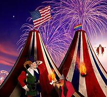 Save America First. The End Times Festival. by Alex Preiss