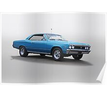 1967 Chevelle Super Sport SS396 Poster