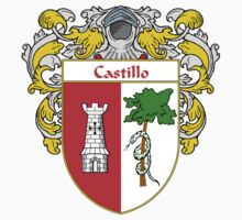 Castillo Coat of Arms/Family Crest Kids Clothes