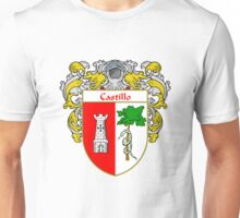 Castillo Coat of Arms/Family Crest Unisex T-Shirt