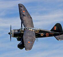Lysander IIIa RCAF2355 V9367/MA-B G-AZWT by Colin Smedley