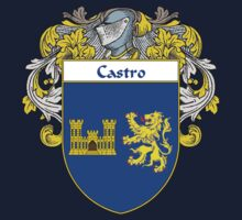Castro Coat of Arms/Family Crest Kids Tee