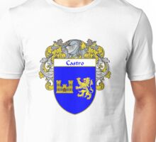 Castro Coat of Arms/Family Crest Unisex T-Shirt