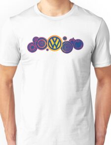 Dr Who VW Mash Up Tee - Gallifrey Volkswagen Unisex T-Shirt