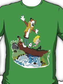 Calvin and Hobbes Street Fighter T-Shirt