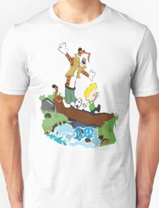 Calvin and Hobbes Street Fighter T-Shirt