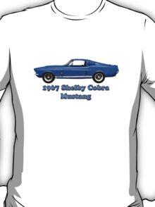 1967  Shelby Cobra  Mustang GT 500 (t-shirt) T-Shirt