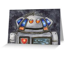 Metal Mickey Greeting Card