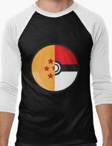 PokeDragonBall Men's Baseball ¾ T-Shirt