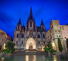 Barcelona Cathedral by Ana Cunha