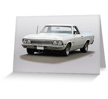 1968 Chevrolet El Camino Greeting Card