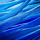 Blue Murano Glass abstract by SteveHphotos