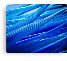Blue Murano Glass abstract Canvas Print