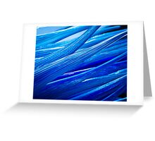 Blue Murano Glass abstract Greeting Card