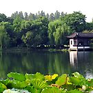 West Lake, Hangzhou, China. by Ralph de Zilva