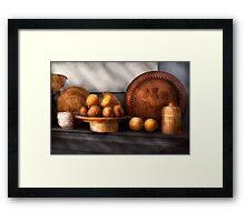 Food - Lemons - Winter spice  Framed Print