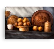 Food - Lemons - Winter spice  Canvas Print