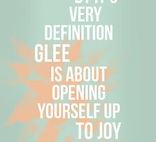 Glee Definition by WhyHelloEmily