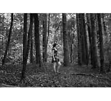 Forest Figures Photographic Print