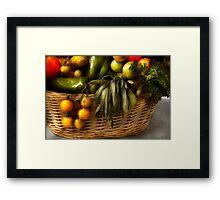 Food - Veggie - Sage advice  Framed Print
