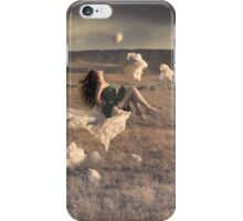 Floating Through the Clouds iPhone Case/Skin