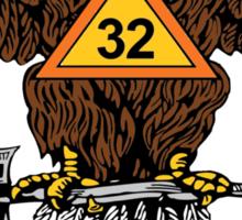 Scottish Rite Sticker