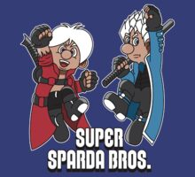 Super Sparda Brothers by Steve Dominguez