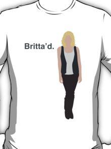 """""""Britta'd"""" T-Shirt"""