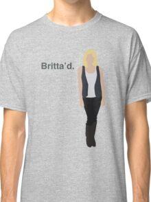 """Britta'd"" Classic T-Shirt"