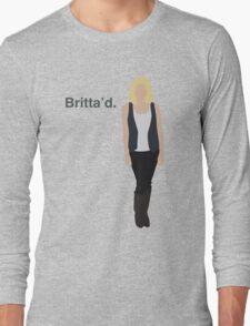 """""""Britta'd"""" Long Sleeve T-Shirt"""