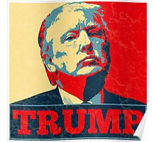 Vote TRUMP - Donald Trump in 2016 - Shepard Fairey Style - Make America Great Again Poster