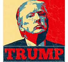 Vote TRUMP - Donald Trump in 2016 - Shepard Fairey Style - Make America Great Again Photographic Print
