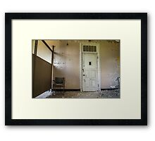 ...office visit... Framed Print